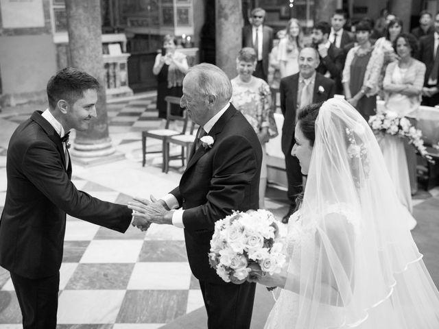 Il matrimonio di Valerio e Laura a Bracciano, Roma 41