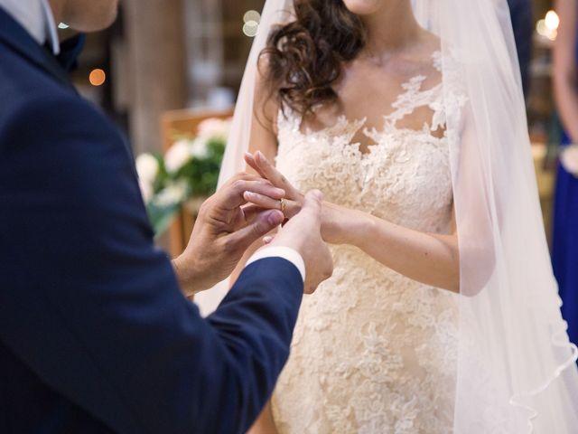 Il matrimonio di Valerio e Laura a Bracciano, Roma 43
