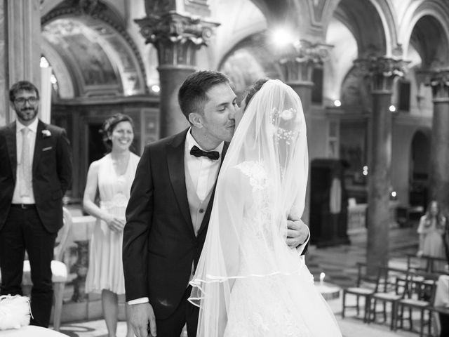 Il matrimonio di Valerio e Laura a Bracciano, Roma 45