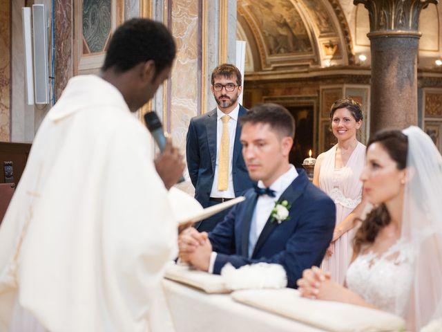 Il matrimonio di Valerio e Laura a Bracciano, Roma 46