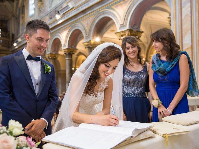 Il matrimonio di Valerio e Laura a Bracciano, Roma 54