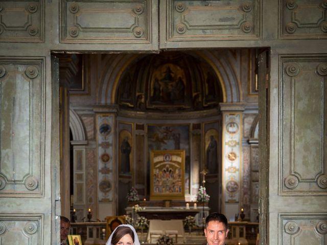 Il matrimonio di Valerio e Laura a Bracciano, Roma 56