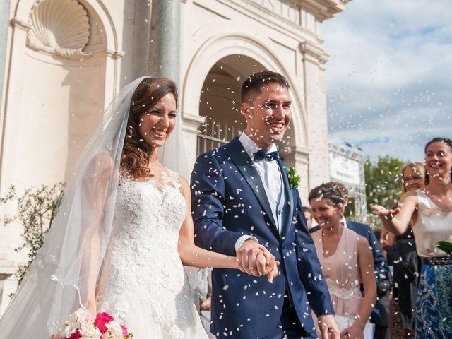 Il matrimonio di Valerio e Laura a Bracciano, Roma 57