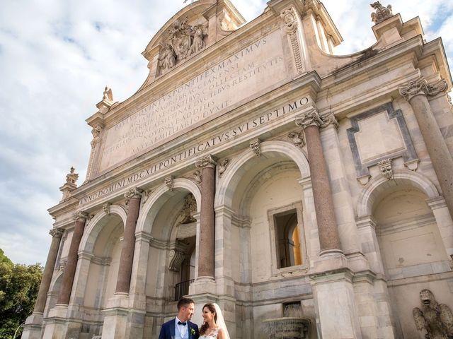 Il matrimonio di Valerio e Laura a Bracciano, Roma 61