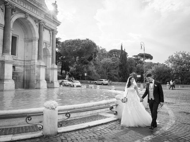Il matrimonio di Valerio e Laura a Bracciano, Roma 63