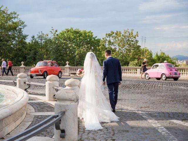 Il matrimonio di Valerio e Laura a Bracciano, Roma 70