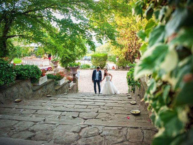 Il matrimonio di Valerio e Laura a Bracciano, Roma 80