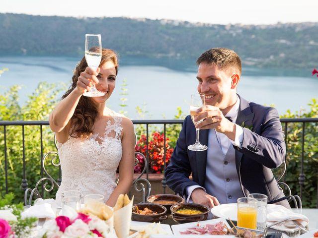 Il matrimonio di Valerio e Laura a Bracciano, Roma 85