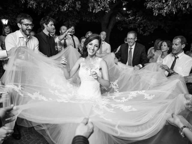 Il matrimonio di Valerio e Laura a Bracciano, Roma 106