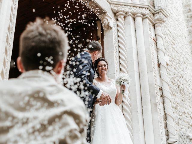 Il matrimonio di Liberato e Chiara a Cellino Attanasio, Teramo 50