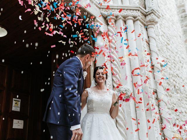Le nozze di Chiara e Liberato