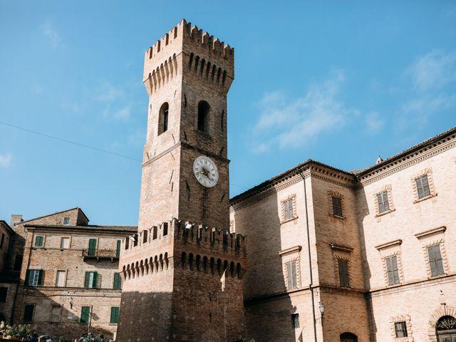 Il matrimonio di Filippo e Jessica a Ostra, Ancona 3