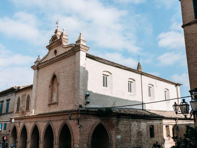Il matrimonio di Filippo e Jessica a Ostra, Ancona 6