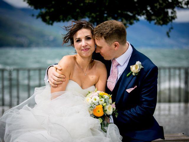 Il matrimonio di William e Nausikaa a Luino, Varese 3