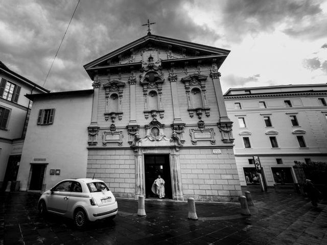Il matrimonio di William e Nausikaa a Luino, Varese 18
