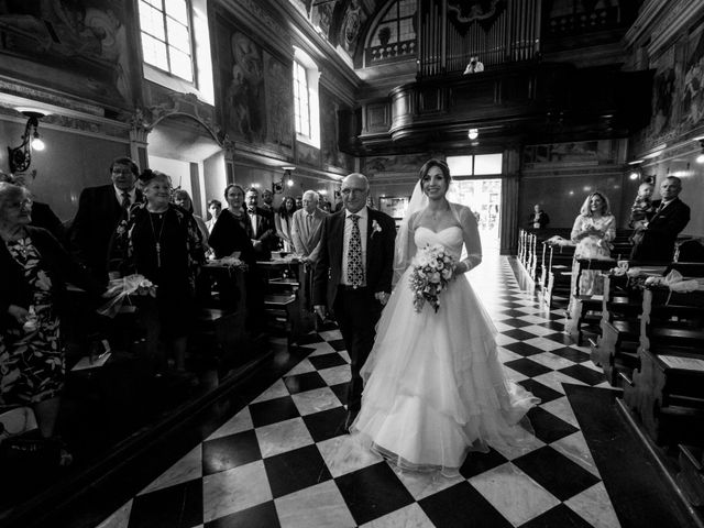 Il matrimonio di William e Nausikaa a Luino, Varese 21