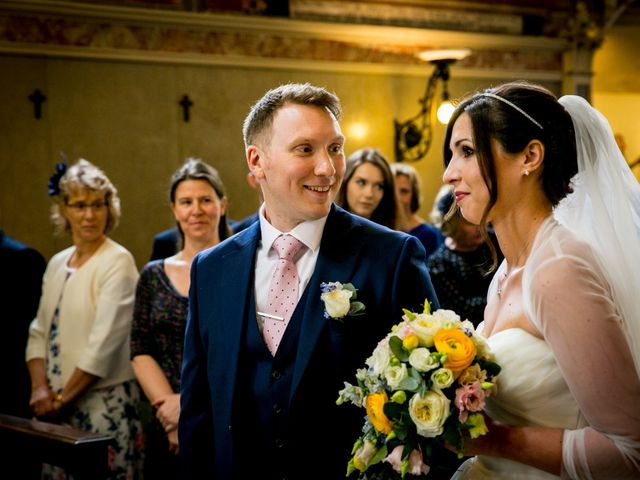Il matrimonio di William e Nausikaa a Luino, Varese 22