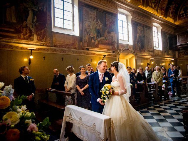 Il matrimonio di William e Nausikaa a Luino, Varese 23