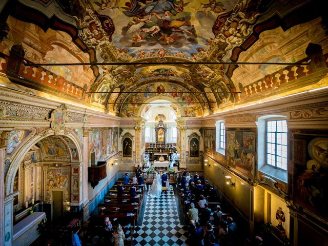 Il matrimonio di William e Nausikaa a Luino, Varese 24