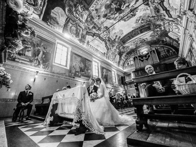 Il matrimonio di William e Nausikaa a Luino, Varese 25