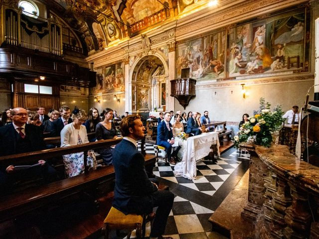 Il matrimonio di William e Nausikaa a Luino, Varese 27