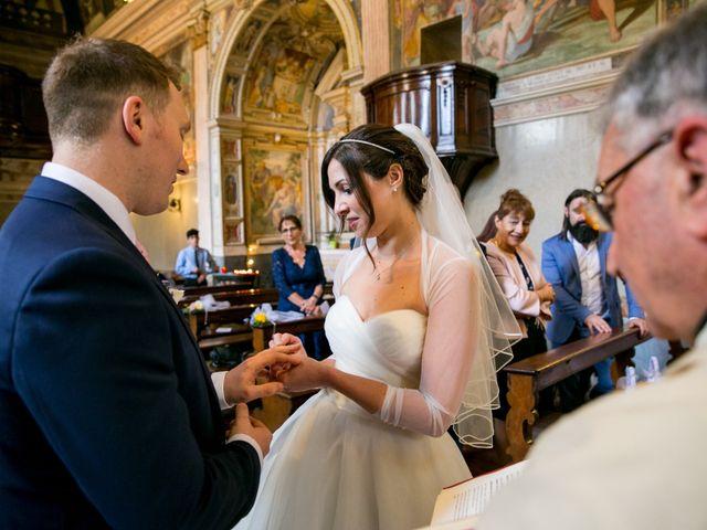 Il matrimonio di William e Nausikaa a Luino, Varese 29