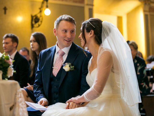 Il matrimonio di William e Nausikaa a Luino, Varese 31