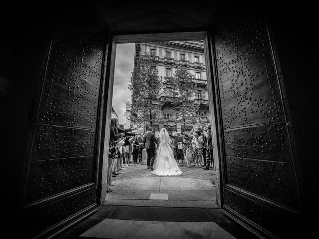 Il matrimonio di William e Nausikaa a Luino, Varese 32