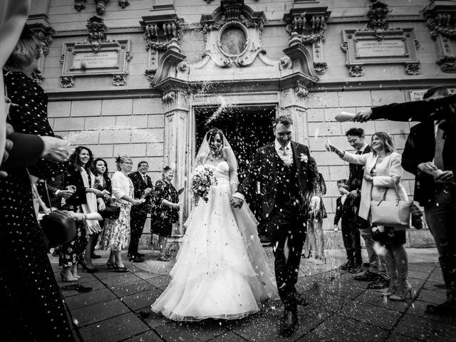 Il matrimonio di William e Nausikaa a Luino, Varese 33