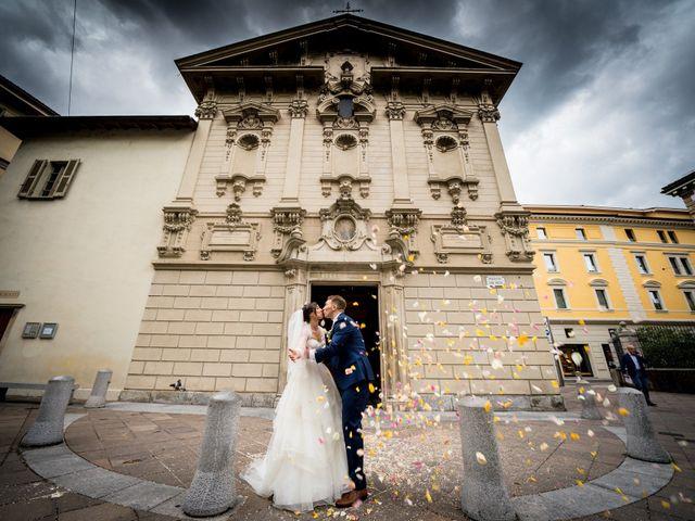 Il matrimonio di William e Nausikaa a Luino, Varese 36