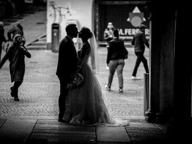 Il matrimonio di William e Nausikaa a Luino, Varese 39