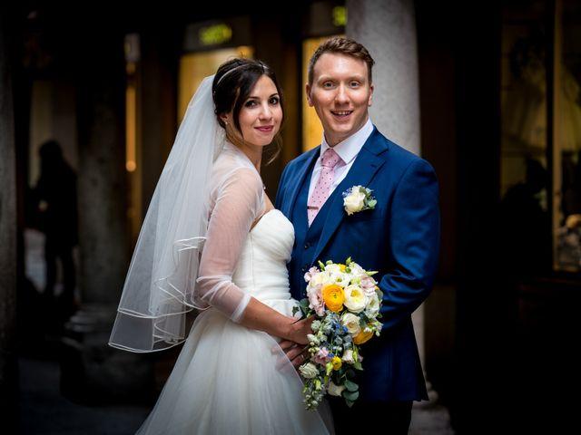 Il matrimonio di William e Nausikaa a Luino, Varese 40