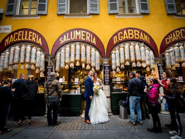 Il matrimonio di William e Nausikaa a Luino, Varese 41