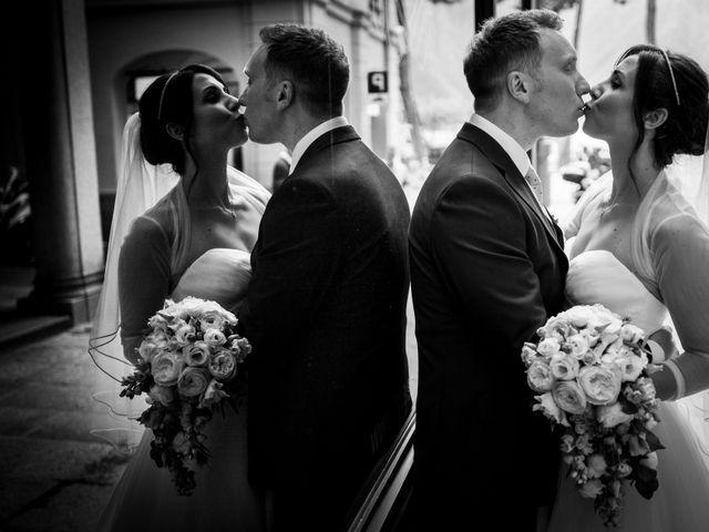 Il matrimonio di William e Nausikaa a Luino, Varese 42