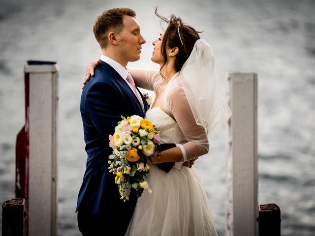 Il matrimonio di William e Nausikaa a Luino, Varese 43