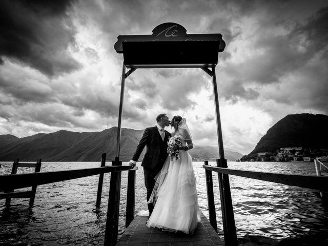 Il matrimonio di William e Nausikaa a Luino, Varese 44