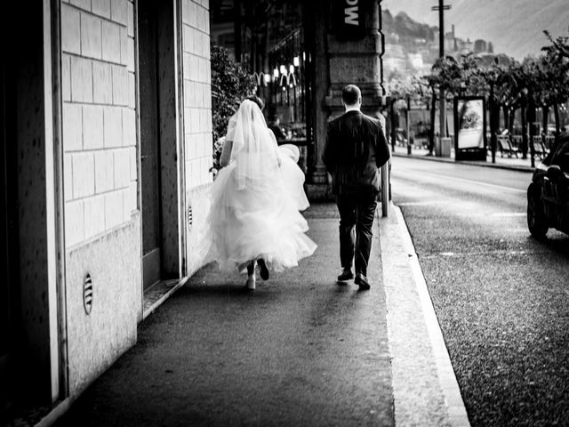 Il matrimonio di William e Nausikaa a Luino, Varese 47