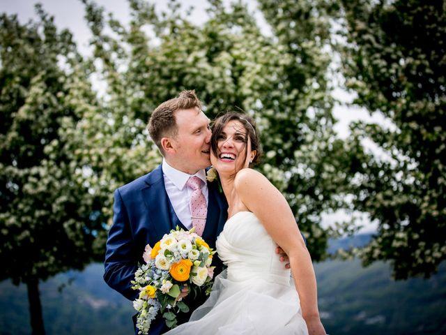 Il matrimonio di William e Nausikaa a Luino, Varese 48