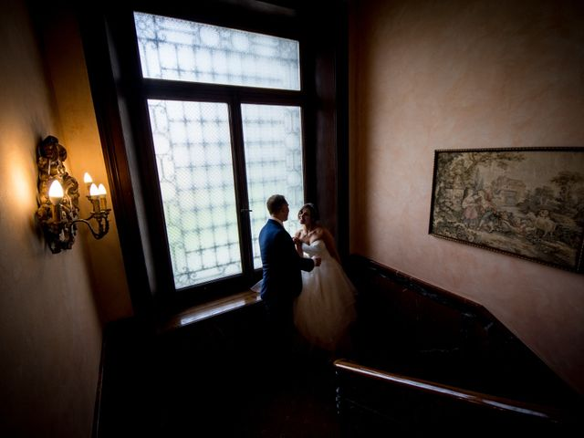 Il matrimonio di William e Nausikaa a Luino, Varese 53