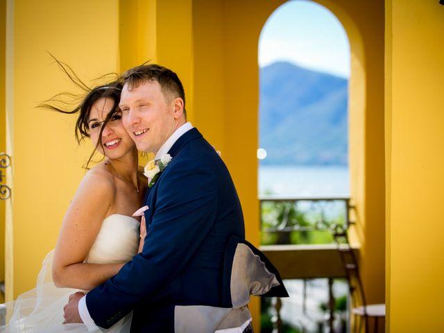 Il matrimonio di William e Nausikaa a Luino, Varese 56