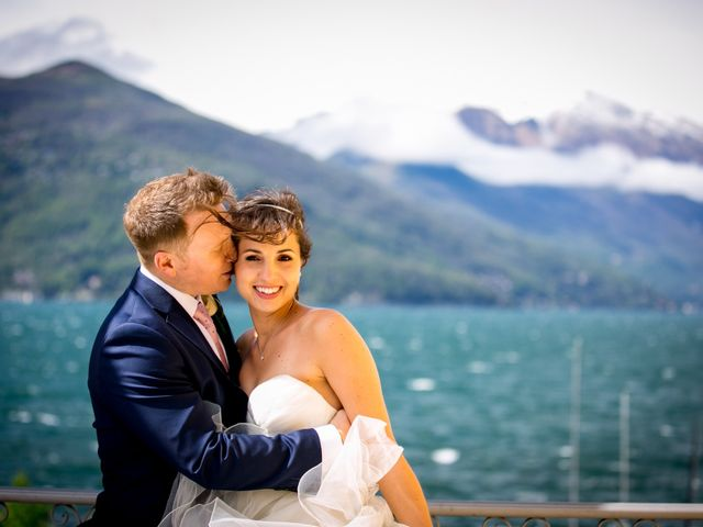 Il matrimonio di William e Nausikaa a Luino, Varese 58