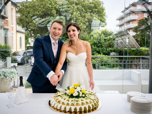 Il matrimonio di William e Nausikaa a Luino, Varese 63
