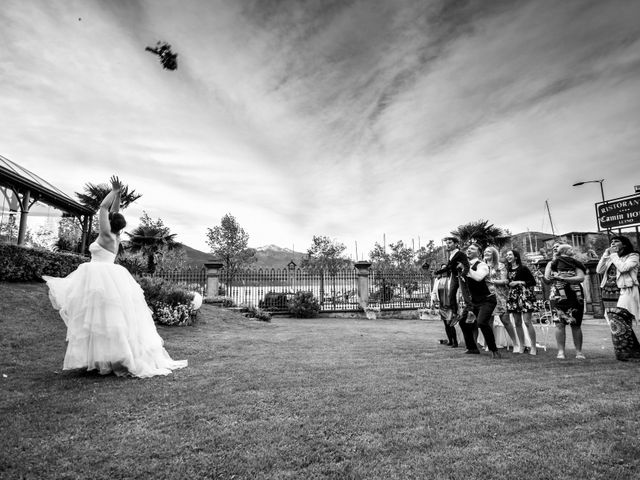 Il matrimonio di William e Nausikaa a Luino, Varese 65