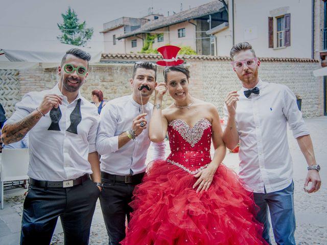 Il matrimonio di Matteo e Nunzia a Treviglio, Bergamo 133