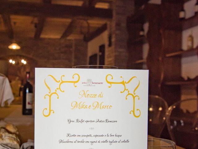 Il matrimonio di Marco e Mika a Gorgonzola, Milano 37
