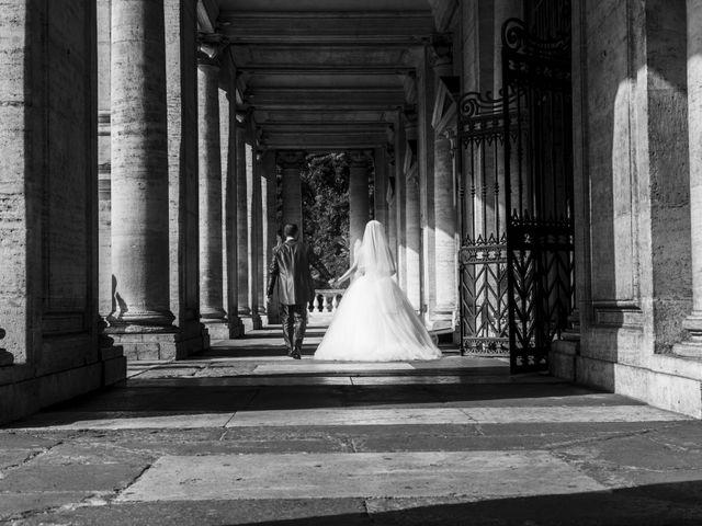 Il matrimonio di Simone e Francesca a Roma, Roma 17