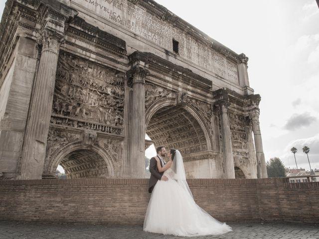 Il matrimonio di Simone e Francesca a Roma, Roma 18