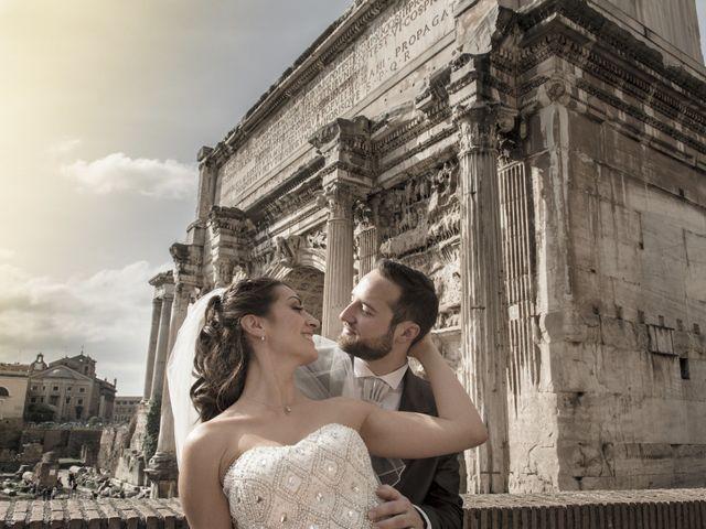 Il matrimonio di Simone e Francesca a Roma, Roma 22