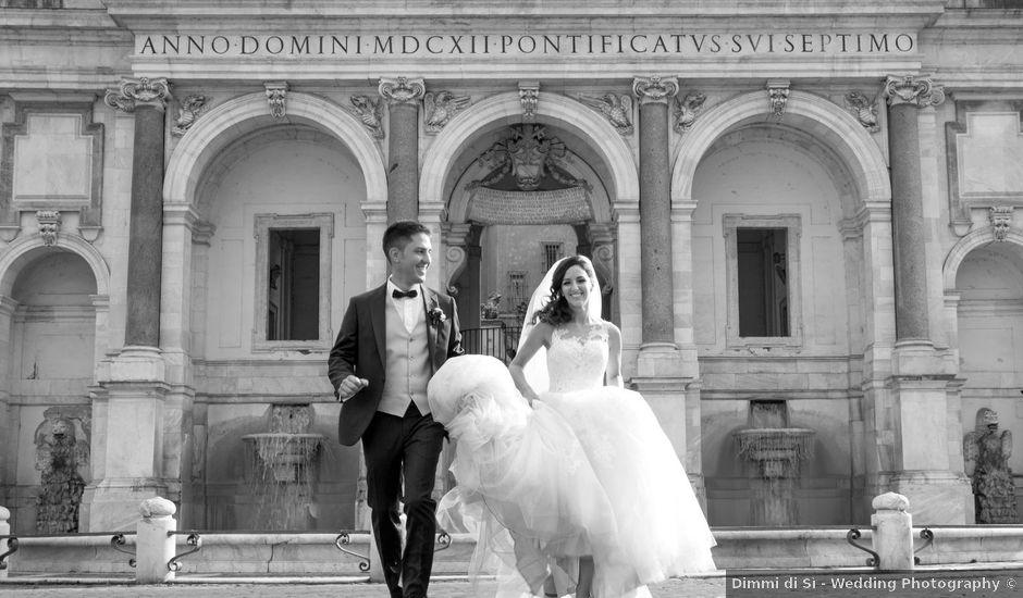 Il matrimonio di Valerio e Laura a Bracciano, Roma