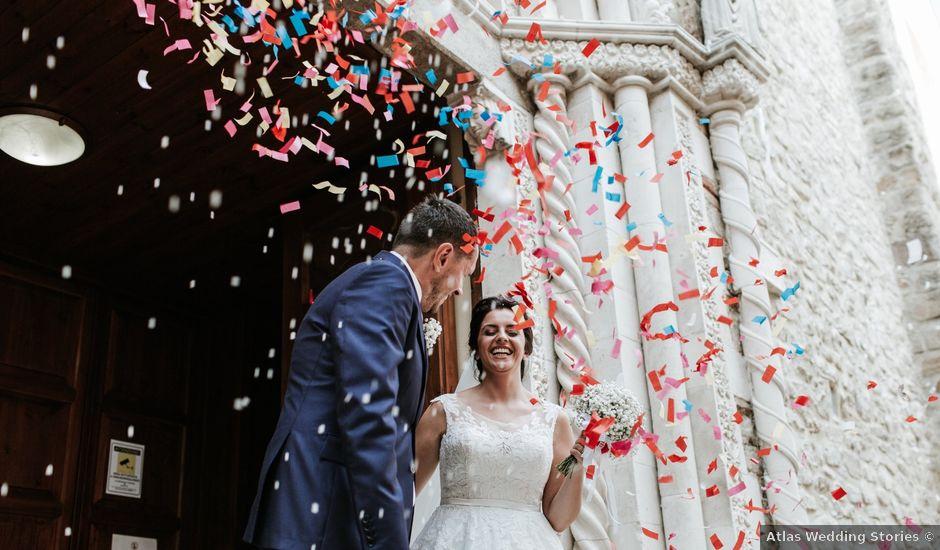 Il matrimonio di Liberato e Chiara a Cellino Attanasio, Teramo